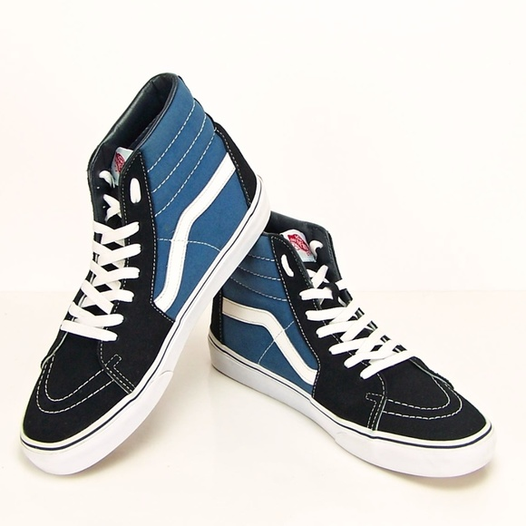 3a83bfb9caceba VANS SK8 Hi Tops Black Blue Men s Size 11 Sneaker.  M 5b7e1630819e90b2ccdc2b38